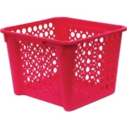United Solutions Large Nesting Stacking Crate, Berry (CR0340)