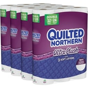 Quilted Northern Ultra Plush Bath Tissue, 3-Ply, 48 Double Rolls/Case (87355)