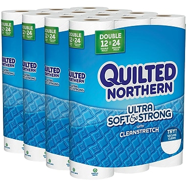 Quilted Northern Ultra Soft & Strong Toilet Paper 48 Rolls/Case (96372)