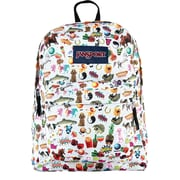 Jansport Superbreak Backpack, Multi Stickers (JS00T5010KN)