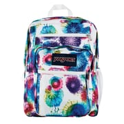 Jansport Big Student Backpack, Multi Tie Dye Swirls (TDN70JX)