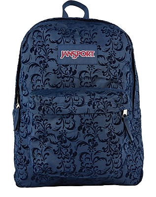 Jansport High Stakes Backpack, Navy Splendid Fly Flock (TRS70J1)