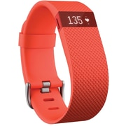 Fitbit ChargeHR Activity Tracker - Large, Tangerine