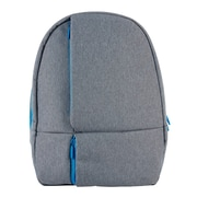 Designed by Students Stow-It-All Backpack, Grey/Blue (29638)