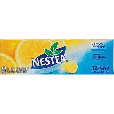 NESTEA® Iced Tea, Lemon 12-ounce Can 24/Pack