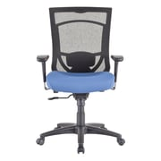 Tempur-Pedic TP7000 Mesh Computer and Desk Office Chair, Fixed Arms, Denim (TP7000-DENIM)