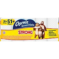 20-Rolls Charmin Essentials Strong Toilet Paper