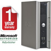 Refurbished Dell 760 USFF Core 2 Duo 2.33GHz, 2GB RAM, 80GB Hard Drive, Win 7 Home Premium