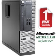 Refurbished DELL 390 Small Form Factor Intel Corei5-2400 3.1GHz 4GB Ram 500GB Hard Drive DVD Windows 8.1 64bit