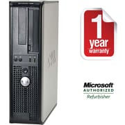 Dell Off-Lease, Refurbished Optiplex 360, 160GB Hard Drive, 2048MB Memory, Intel Dual Core, Win 7 Pro