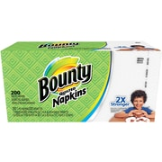 Bounty® Quilted Napkins, 1-Ply, 200/Pack