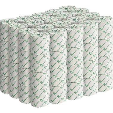 Sustainable Earth by Staples® Bath Tissue, 2-Ply, White, 552 Sheets/Rolll, 80 Rolls/Case (SEB21989-CC)