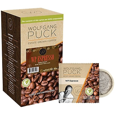 Wolfgang Puck WP Espresso™ Coffee, 18 Pods/Box