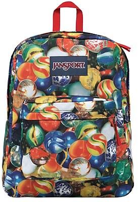 Jansport Superbreak Backpack, Multi Lost Marbles (JS00T5010JM)