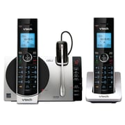 VTech DS6771-3 2 Handset Connect to Cell Answering System with Cordless Headset