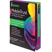 MobileTrust Keystroke Encryption for Mobile Devices (2-device protection, 1 year, Android/iOS) [Boxed]
