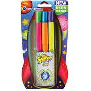 Mr. Sketch® Scented Stix Markers, Intergalactic Neon, 6 Pack