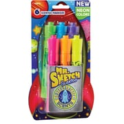 Mr. Sketch® Scented Markers, Intergalactic Neon, Chisel Tip, 6 Pack