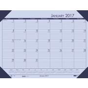 "House of Doolittle, Desk Pad Calendar, 2017, 17"" x 22"", EcoTones Orchid (12473-17)"