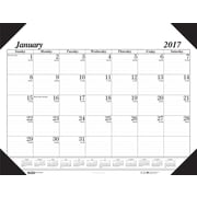 "House of Doolittle, Desk Pad Calendar, 2017, 13"" x 18 1/2"", Economy (0124-17)"