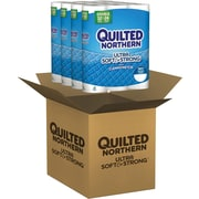 Quilted Northern Ultra Soft & Strong Bath Tissue, 48 Double Rolls/Case (96372)
