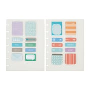 "Staples® Arc System Adhesive Notes, Assorted, 5-1/2"" X 7-1/2""  (29476)"