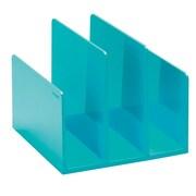 Poppin Fin File Sorter, Aqua (102747)