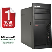 Refurbished LENOVO M58E, 2GB Memory, 160GB hard Drive, Windows 7 Home Premium Desktop
