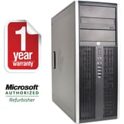 Refurbished HP 8200 Tower Intel Corei5-3.1GHz 4GB Ram 500GB Hard Drive DVD Win 10 Pro(64bit)