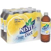 Nestea® Iced Tea, Diet Lemon, 16.9 fl. oz. Bottles, 12/Pack
