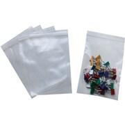 """Staples 4"""" x 6"""" Reclosable Poly Bag, 2.0 Mil, 1000/Case"""