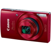 Canon PowerShot ELPH 190 IS 20MP Compact Camera, 10x Optical Zoom, 43 - 43 mm Focal Length, Red