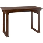 "Bush Furniture Mission Creek 48W Writing Desk, Antique Cherry, 47.16""W x 23.18""D x 30""H"