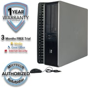 Refurbished HP Compaq DC7900 SFF Core 2 Duo 3.0Ghz 4GB RAM 1TB Hard Drive Windows 10 Pro
