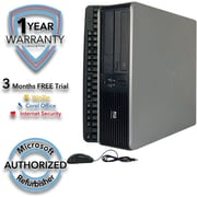 Refurbished HP Compaq DC7900 SFF Core 2 Duo 3.0Ghz 4GB RAM 320GB Hard Drive Windows 10 Pro