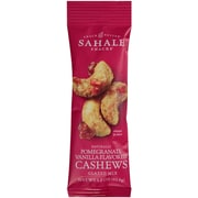 Sahale Pomegranate Vanilla Flavored Cashews Glazed Mix 18/1.5oz