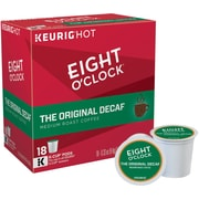 Eight O'Clock® The Original Decaf, Keurig® K-Cup® Pods, 18 Count