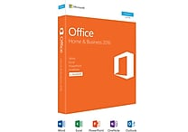 Office Home and Business 2016 for Windows (1 User) [Product Key Card]