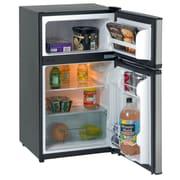 Avanti RA3136SST 3.1 CF Two Door Counterhigh Refrigerator/Freezer - Black w/Stainless Steel Doors