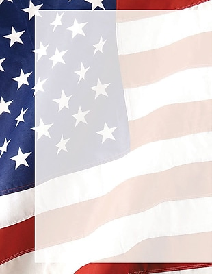 """""""""""Great Papers! Old Glory Letterhead 8.5"""""""""""""""" x 11"""""""""""""""" 80 count (2013187)"""""""""""" 2350097"""