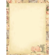 "Great Papers! Floral Collage Letterhead   8.5"" x 11""  80 count (2014264)"