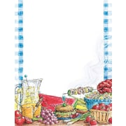 "Great Papers! Summer Barbeque Letterhead   8.5"" x 11""  80 count (2014306)"