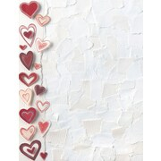 "Great Papers! Paper Hearts Letterhead   8.5"" x 11""  80 count (2014328)"