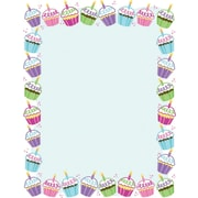 "Great Papers! Cute Cupcakes Letterhead   8.5"" x 11""  80 count (2014340)"
