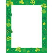 "Great Papers! Shamrock Shake Letterhead   8.5"" x 11""  80 count (2015019)"