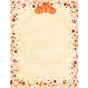 "Great Papers! Painted Pumpkin Letterhead   8.5"" x 11""  80 count (2015086)"