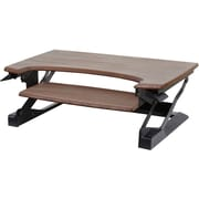 Workspace™ Lift35 Premium Mocha Bamboo Adjustable Standing Desk