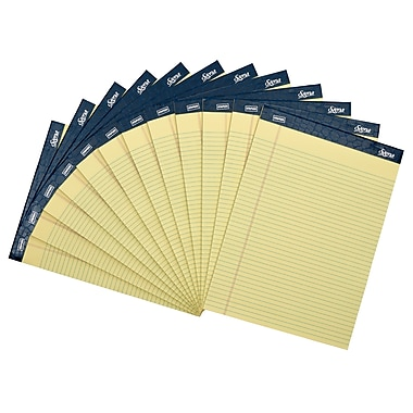 Staples Signa Notepads, 8.5