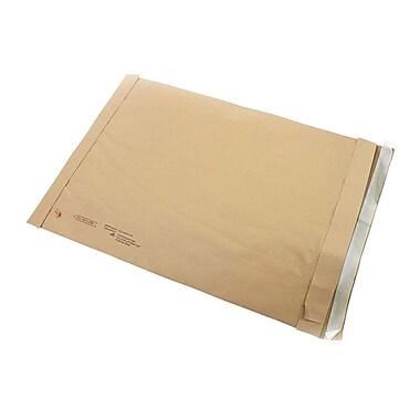Staples #6 Padded Mailer, Gold Kraft, 12-3/8