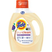 Tide Purclean Liquid Laundry Detergent for Regular and HE Washers, Honey Lavender Scent, 75 oz., 48 loads